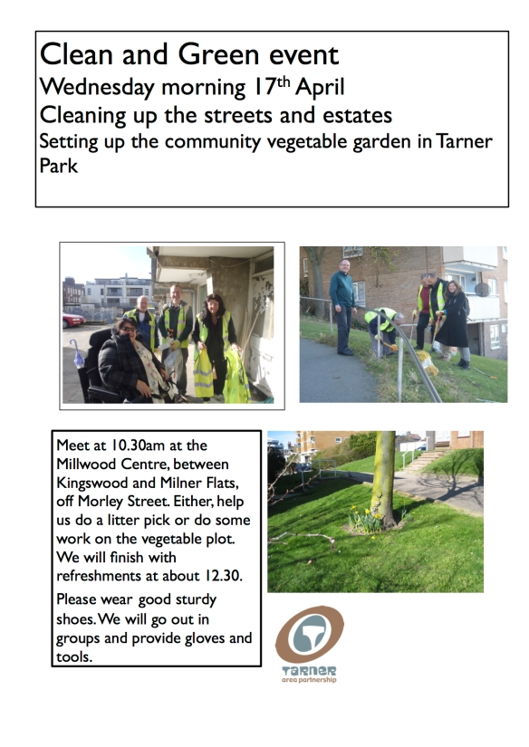 Clean and Green Poster 17April13
