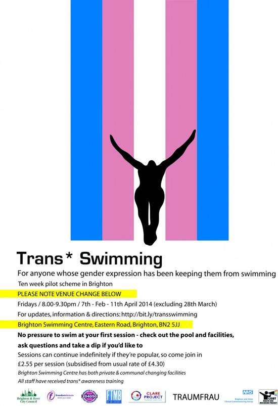 Trans swimming opportunities